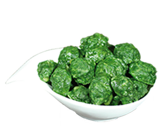 Chopped Spinach In Drops