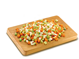 Soffritto' Mix (Onion, Celery And Carrots)