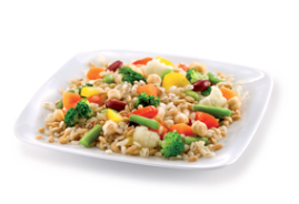 Five Cereals Salad With Fantasy Veg Mix