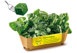 Organic Spinach Leave Portions