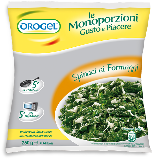 Spinach With Cheese