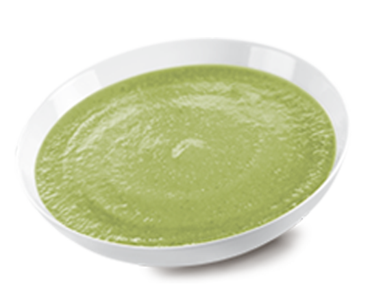 Courgette Puree in Drops