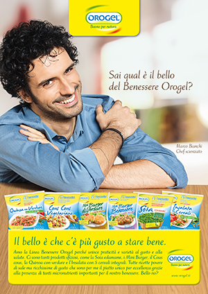 Campagna stampa Orogel