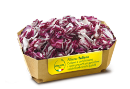 Red Radicchio Slices IQF